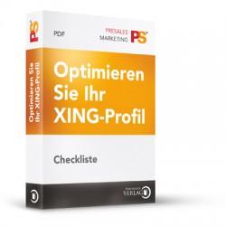 Checkliste - So optimieren Sie Ihr XING-Profil