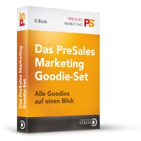 Das PreSales Marketing Goodie-Set